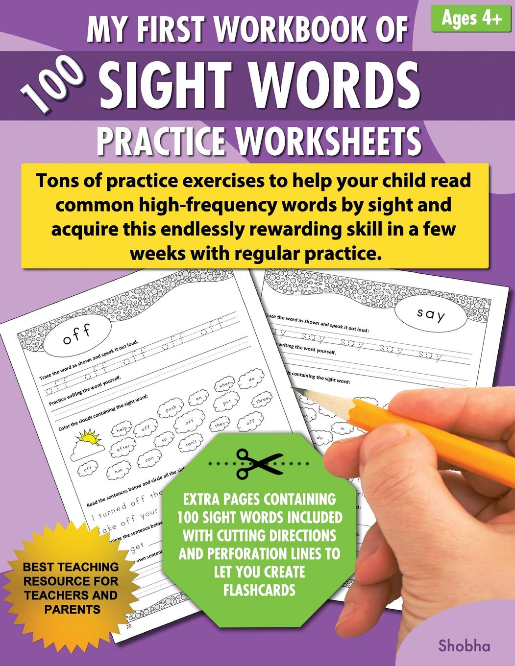 - My First Workbook Of 100 Sight Words Practice Worksheets