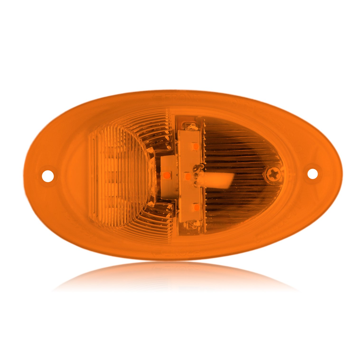 Maxxima M63123Y 7 LED Amber Freightliner Replacement Side Turn/Side Marker Light