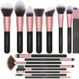 EmaxDesign Makeup Brushes,18 Pcs Professional Makeup Brush Set Premium Synthetic Brush Foundation Blush Concealer Blending Po