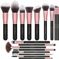 EmaxDesign Makeup Brushes,18 Pcs Professional Makeup Brush Set Premium Synthetic...