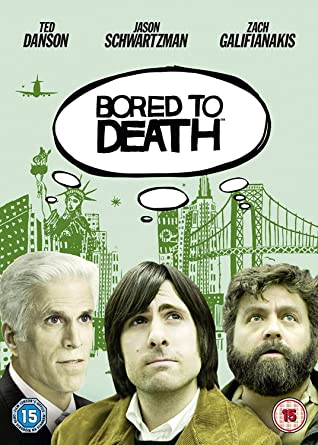 Bored To Death - Season 1 HBO DVD 2011 by Jason Schwartzman ...