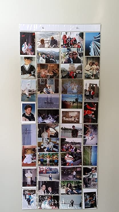 amazon com hanging photo gallery each picture is in its own