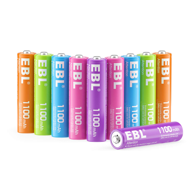 EBL AAA Rechargeable Batteries