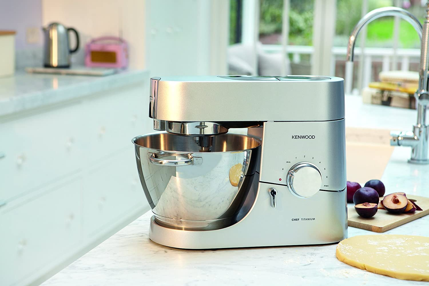 Amazon.com: Kenwood Titanium Chef, Silver, KMC010: Kitchen & Dining