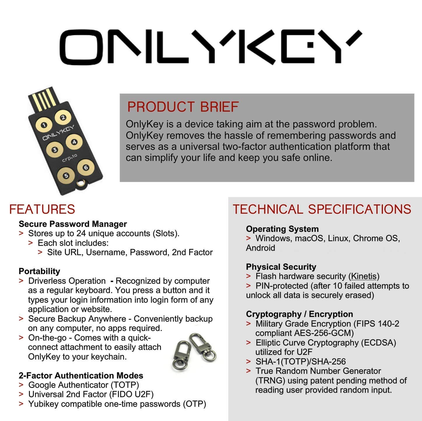 Amazon.com  OnlyKey with Stealth Black Case - Hardware Password Manager ff1cfe9ef5