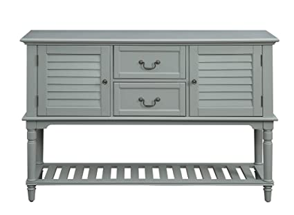 Provence Buffet with Wine Storage (Gray)  sc 1 st  Amazon.com & Amazon.com - Provence Buffet with Wine Storage (Gray) - Buffets ...