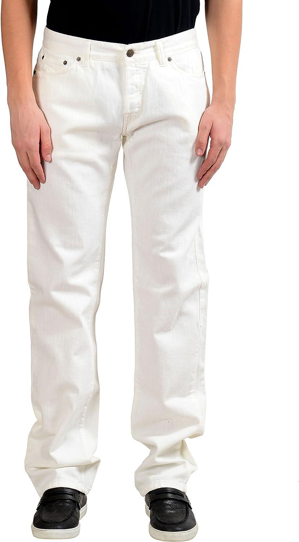 Richmond Destroy Mens Dark Classic Jeans US 32 IT 48