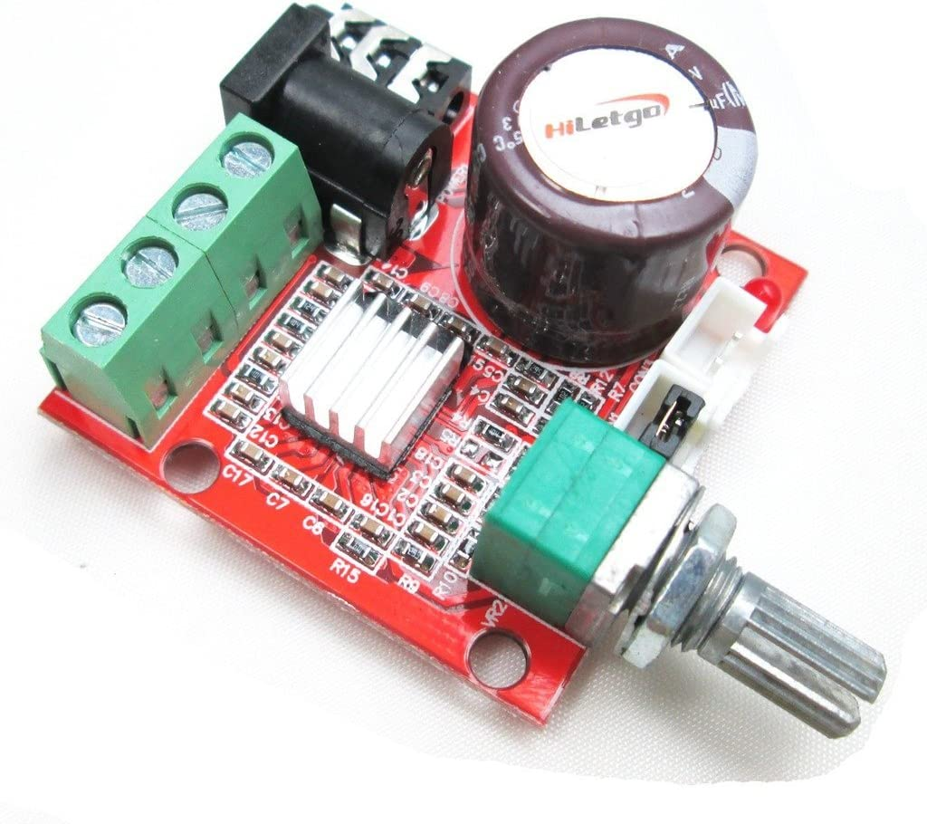 PAM8610 Mini 10W+10W Stereo Audio Power Amplifier Board Module Class D 12V