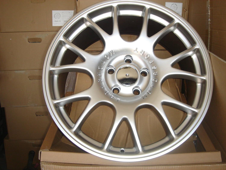 Embellecedor de aleación para ruedas, estilo BBS CH, 19 x 9,5 (GG-34-CC), 2 unidades, color gris: Amazon.es: Coche y moto