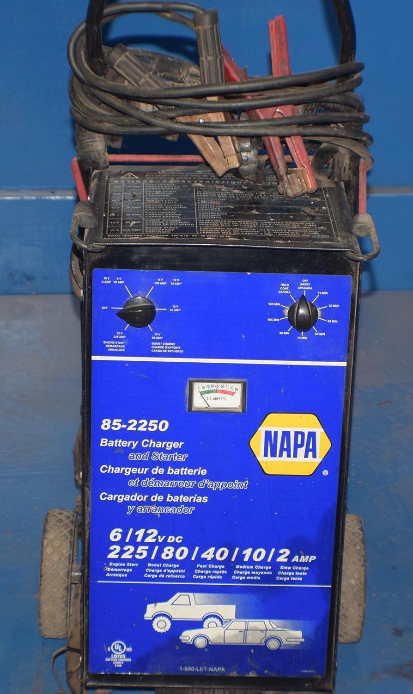 Amazon.com : NAPA 85-2250 PROFESSIONAL UPRIGHT BATTERY CHARGER ... on