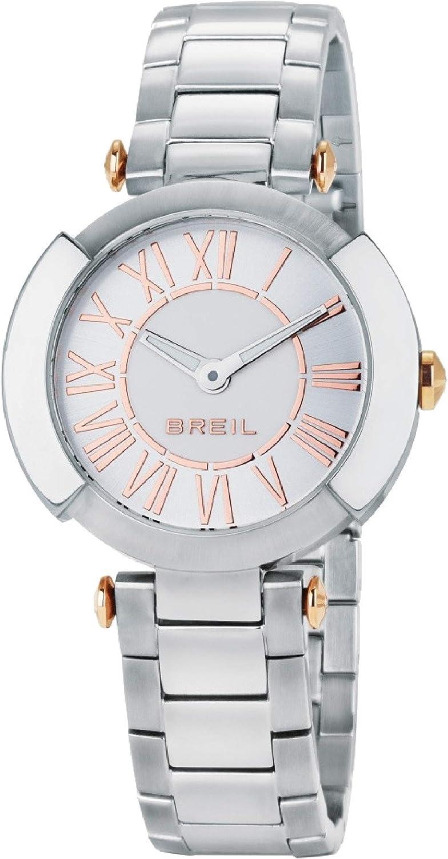 Reloj BREIL por Mujer FLAIRE con Correa de Acero, Movimiento Time Just - 3H Cuarzo