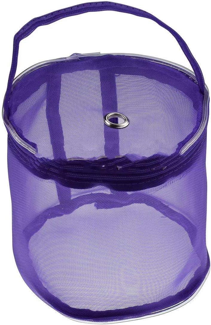 LINSUNG Wollnetz Tasche Aufbewahrungstasche DIY Weben Kit Home t/äglichen Finishing Tasche Beige