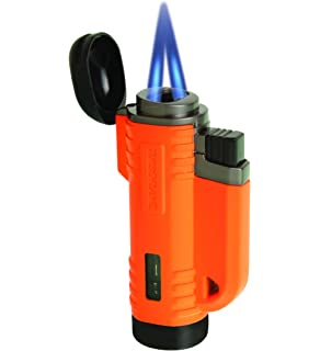 Turboflame Turbostik Stick Jet Flame Gas Lighter Windproof Gadget in Red