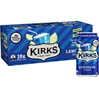 Kirks Kirks Lemonade Multipack Cans Soft Drink, 10 x 375 ml