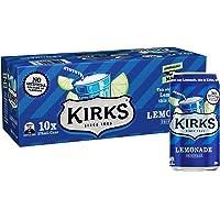Kirks Lemonade Multipack Cans Soft Drink 10 x 375 mL