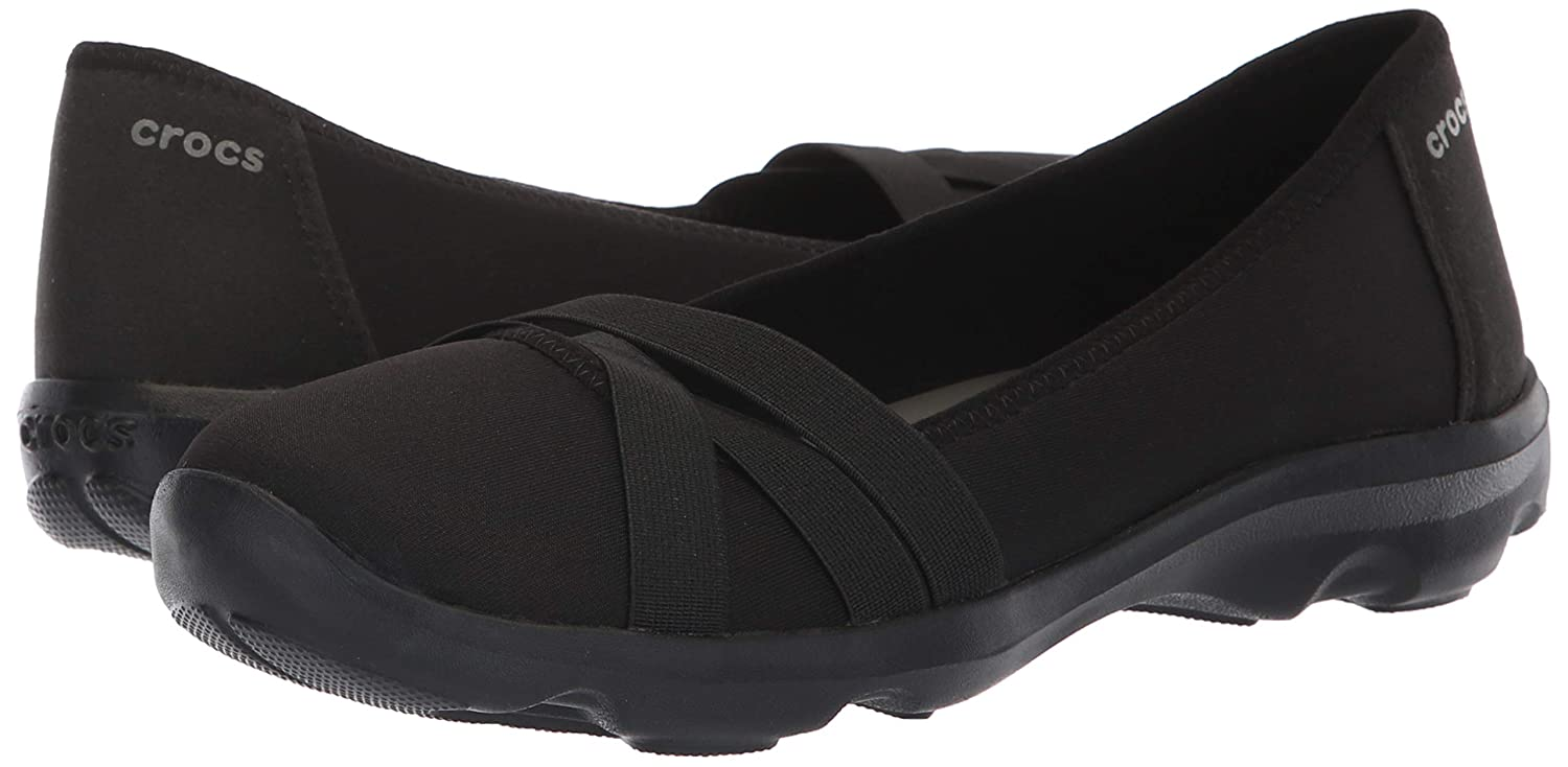 Crocs Womens Busy Day Strappy Flat