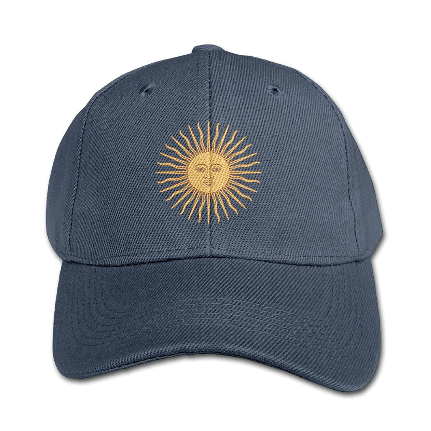 cheap Flag For Fascist Argentina Adjustable Washed Peaked Cap Fashion Hats For Kids hot sale