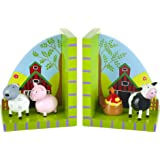 Orange Tree Toys : Farm Yard Wooden Bookends