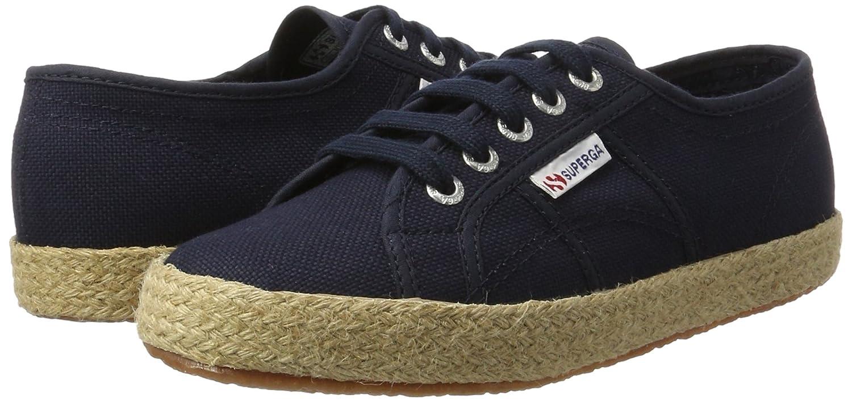 Superga 2750 Marine CotropewSneakers Femme Bleu Basses FKJ3Tcl1u5