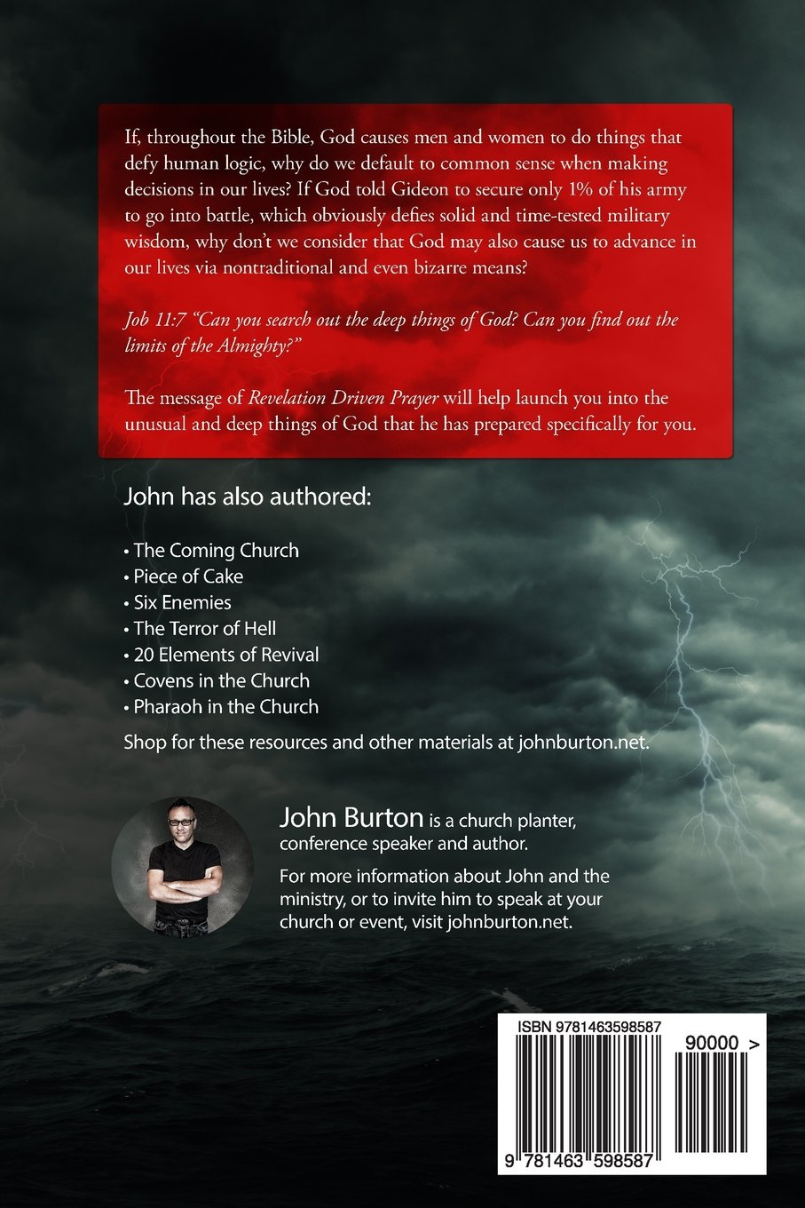 Revelation Driven Prayer: Discover the Shock and Awe of Gods Voice