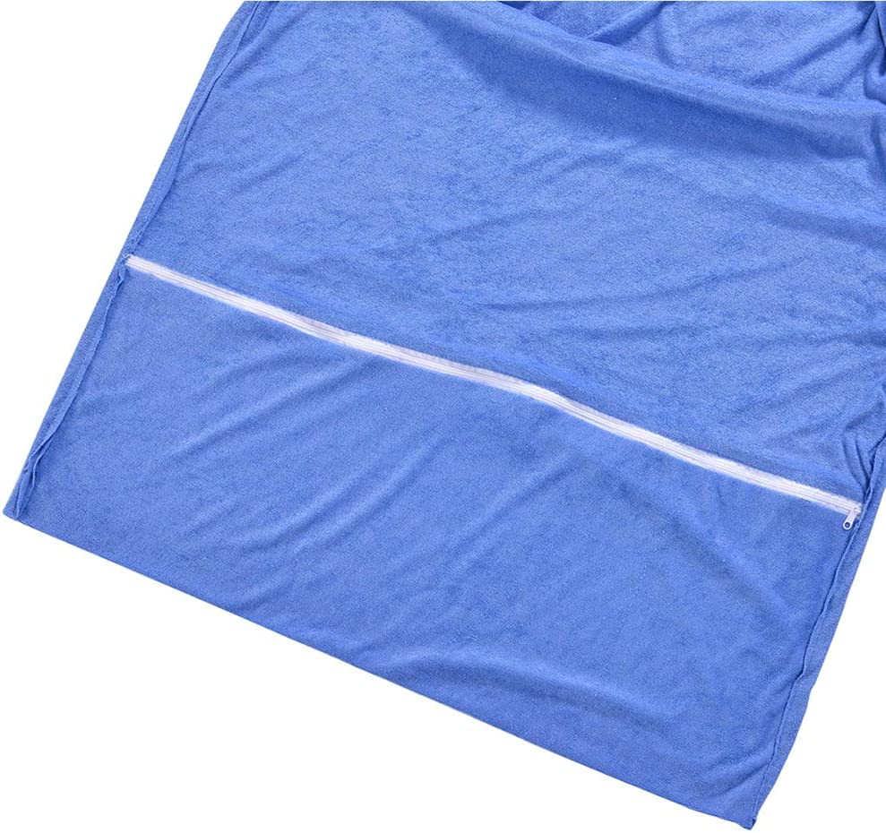 Sun Lounger Mate Carry Pockets Bags Explopur Thicker Beach Chair Towel