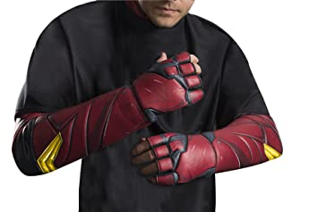 Justice League Movie Flash Gloves Adult Costume Accessory  sc 1 st  Amazon UK & Justice League Movie Flash Gloves Adult Costume Accessory: Amazon.co ...