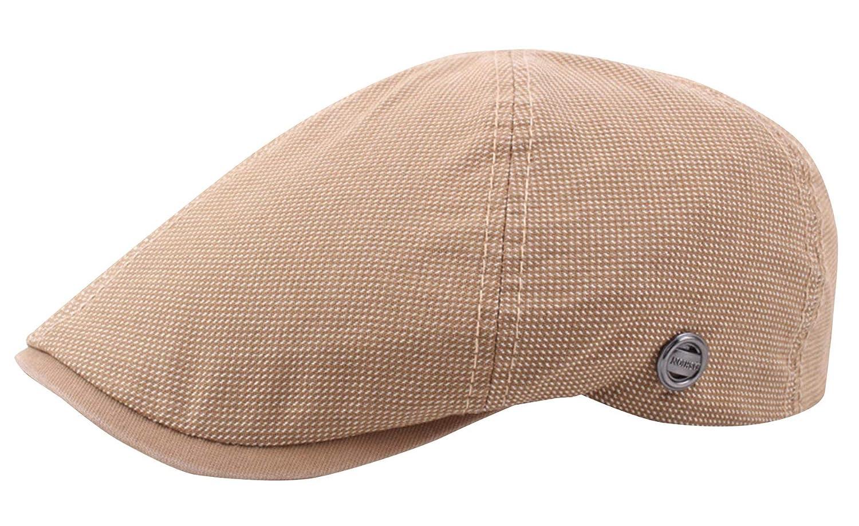 AIEOE Flatcap M/änner Schirmm/ützen Golfer M/ütze Einstellbar Gatsby Newsboy Cap Beret