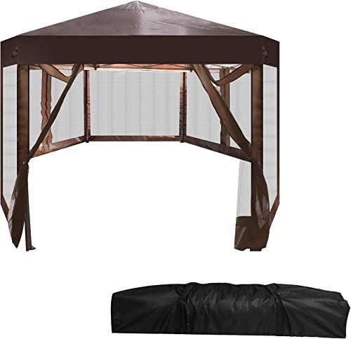 LUCKYERMORE Pop Up Canopy Tent
