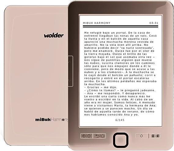 Wolder MiBuk Harmony Plus - Lector de libros electrónicos (6 ...