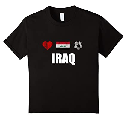 Image Unavailable. Image not available for. Colour  Kids Iraq Football Shirt  ... 700444594