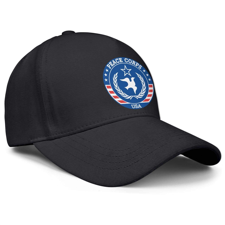 Peace Corps Unisex Baseball Cap Cooling Fishing Caps Adjustable Trucker Caps Dad-Hat