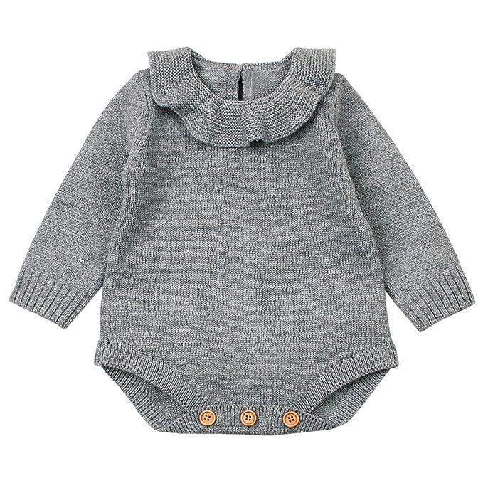 Amazon.com: LEERYAAY One-Piece Doll Romper Newborn Infant Baby Boy ...