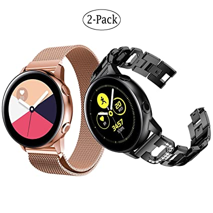 Amazoncom Fit Samsung Galaxy Watch Active Band 40mm 20mm
