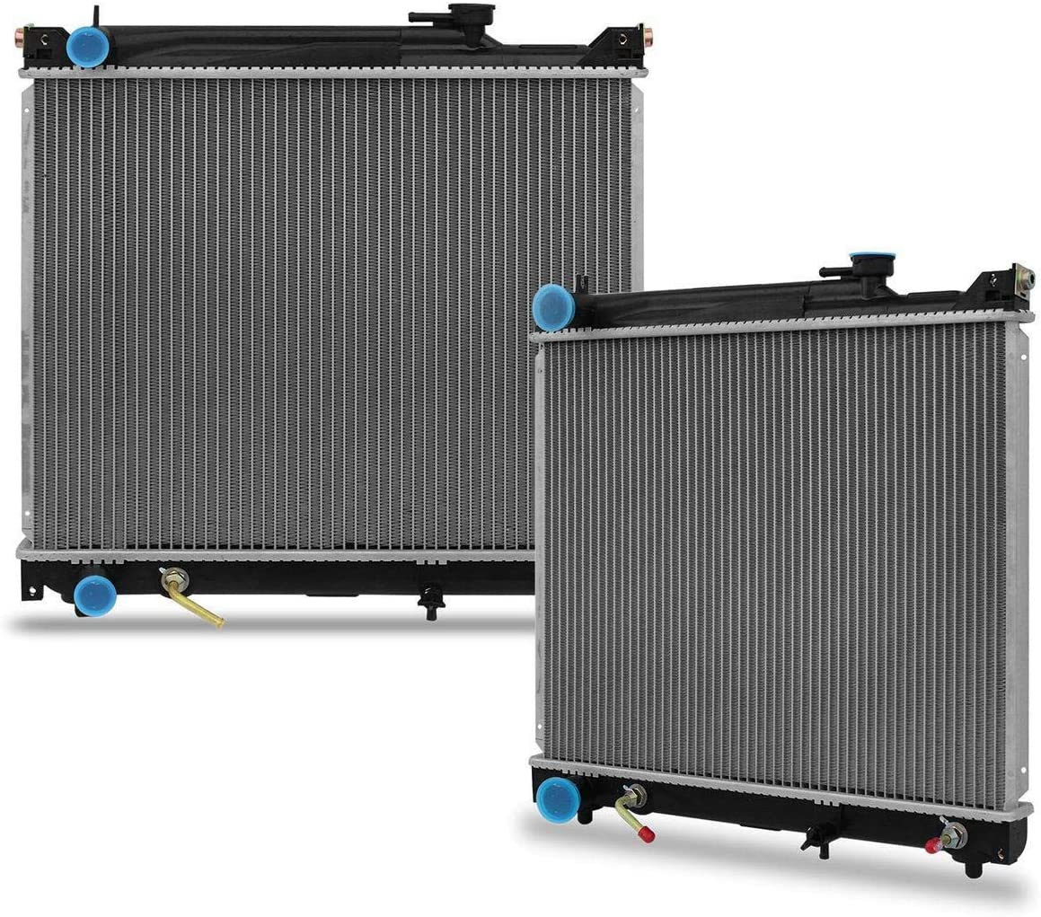 Radiator for Pontiac Sunrunner//Suzuki Sidekick//Grand Vitara 1.6 1.8 2.0 L4 2.5
