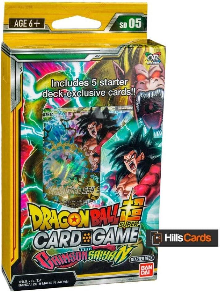 Dragon Ball Super TCG Series 5 Crimson Saiyan Starter Deck (English): Amazon.es: Juguetes y juegos