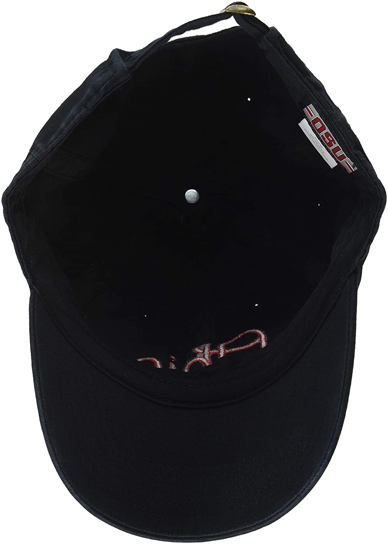 Top of the World NCAA Mens Vintage Hat Adjustable Black Icon