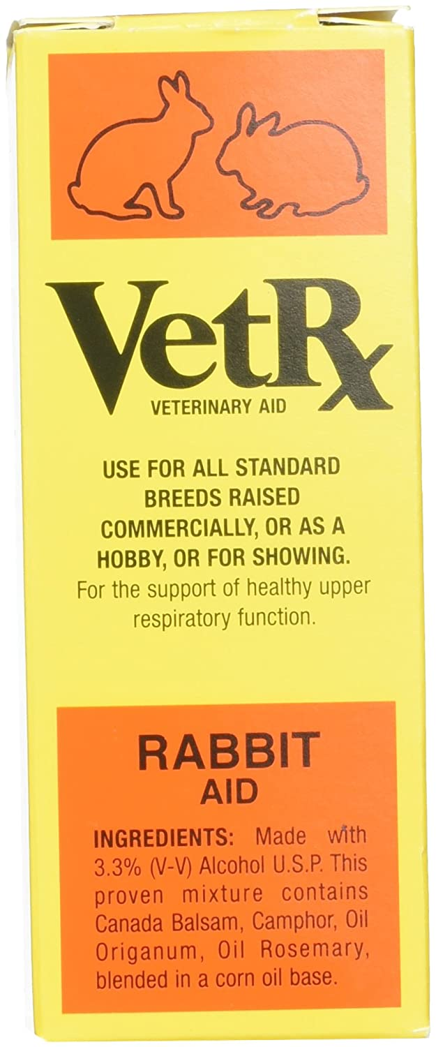 Vetrx Rabbit Veterinary Aid 2 Oz for all Standard Breeds GOODWINOL PRODUCTS CORP 459003