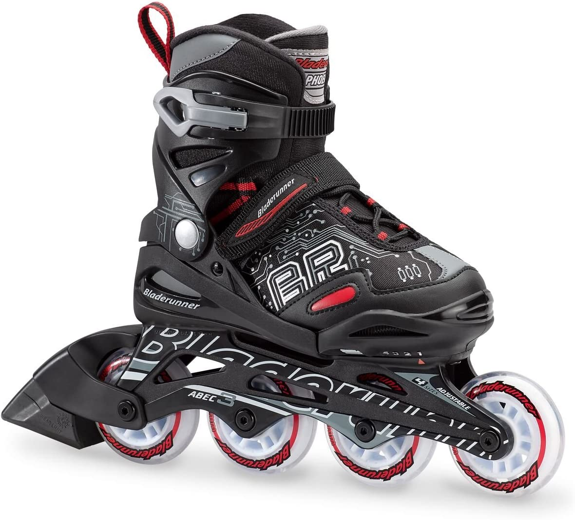 Bladerunner by Rollerblade Phoenix Boys Adjustable Fitness Inline Skate / US