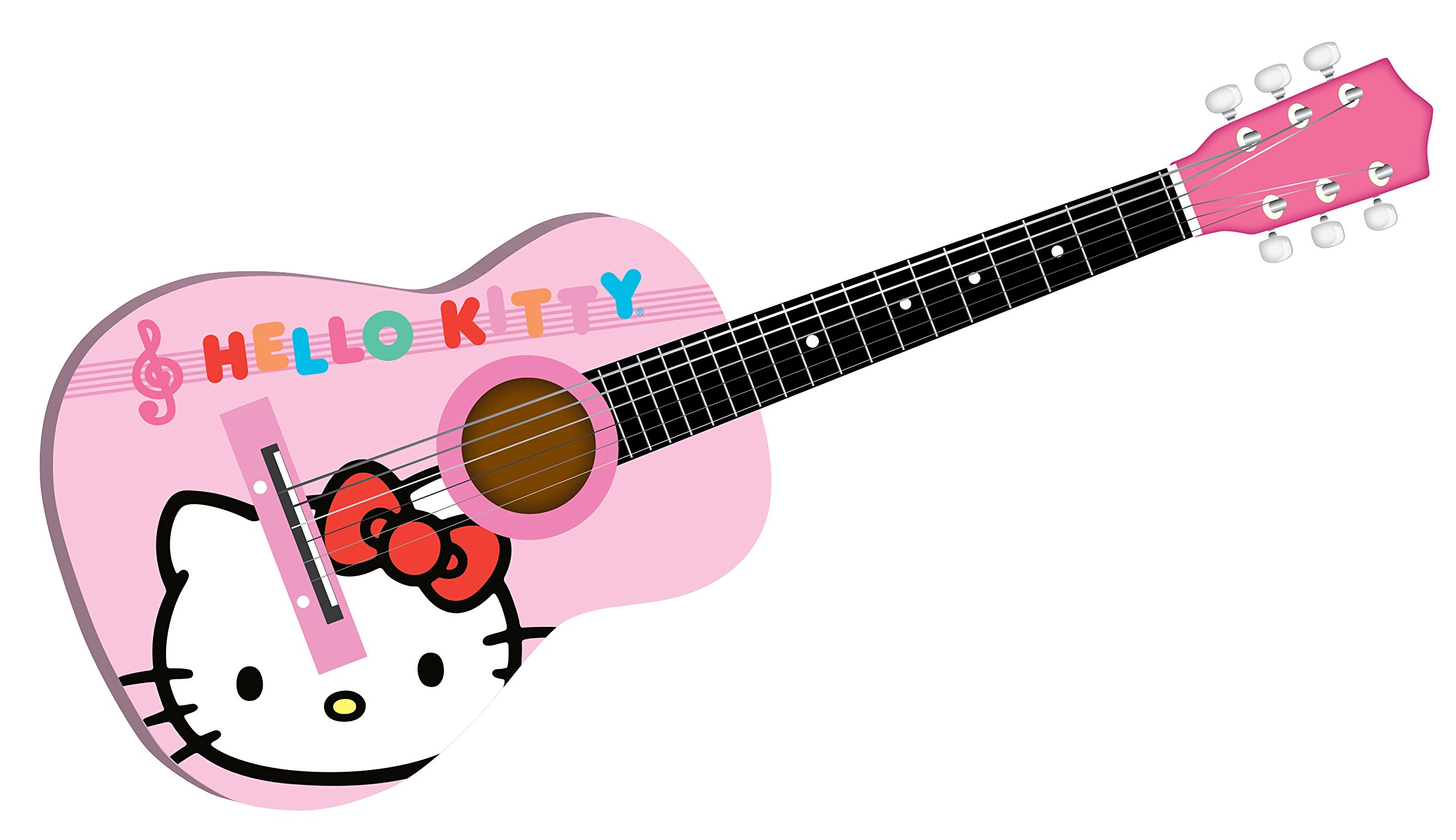 Hello Kitty 30'' Acoustic Guitar  Colors May Vary (88099)