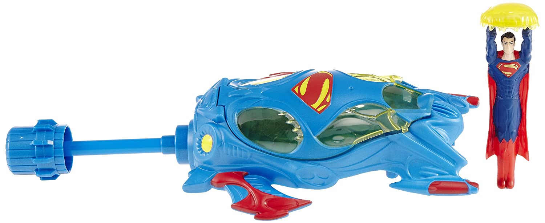 Superhero Figures Works With Flight Speeders New Mattel Superman Man Of Steel