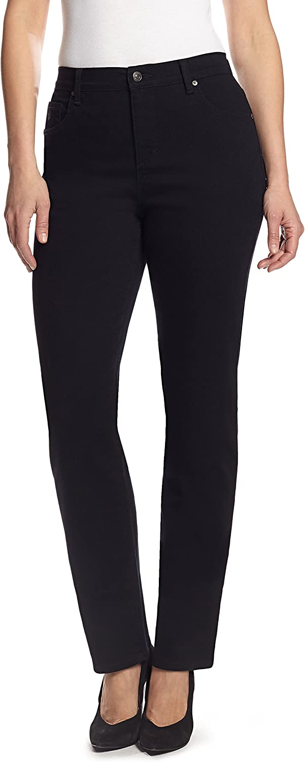Gloria Vanderbilt Women's Classic Amanda High Rise Tapered Jean at  Women's Jeans store