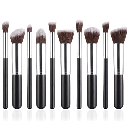 Silver  Angel Kiss Makeup Brushes Professional Makeup Brush