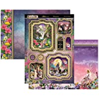 Hunkydory Crafts Land of Enchantment 3-Pc Topper Set The Dragons of The Sky