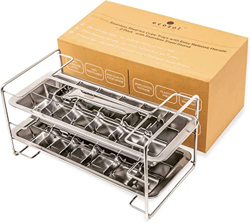 Ecozoi_Stainless_Steel_Metal_Ice_Cube_Trays