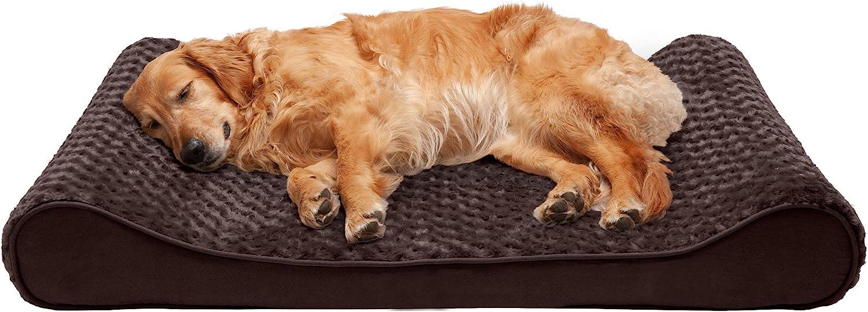 Furhaven Orthopedic Dog Lounger