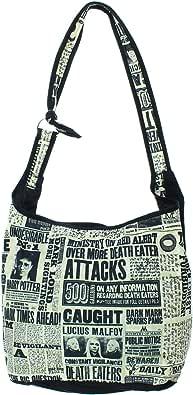 Hobo Handbag Harry Potter Daily Prophet Shoulder Hogwarts Crossbody Bag Purse