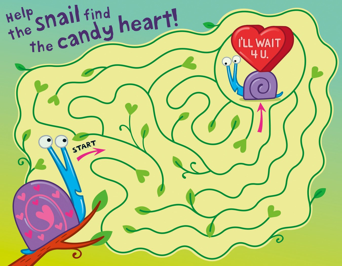 Amazon.com: Peaceable Kingdom 28 Card aMAZE-ing Maze Valentines with ...