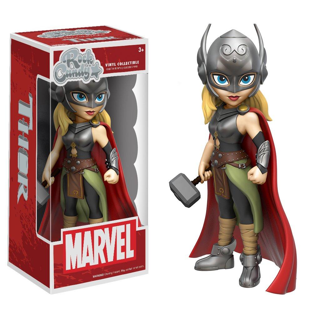 Funko Marvel Lady Thor Rock Candy Figure
