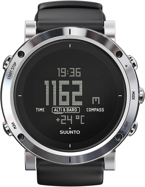 Suunto – Core – Brushed Steel watch, One Size – Men s