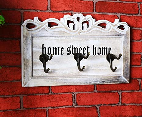 Happy little sheep Home Sweet Home - Perchero de Pared de ...